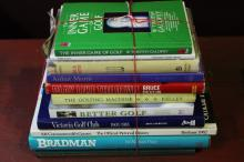 Eleven Sporting Reference Books,