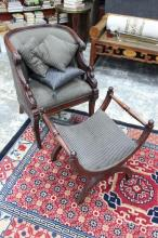 Wonderful Tub Armchair and Ottoman,