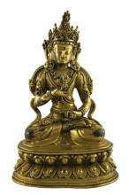 Gilt Bronze Tara,
