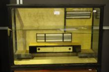 Japanese Glazed Display Case,