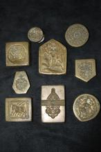 Collection of Ten Cast Middle Eastern Seals,