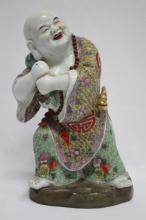 Chinese Porcelain Figure of Budai,
