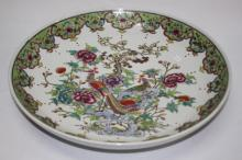 Chinese Porcelain Famille Rose Charger,