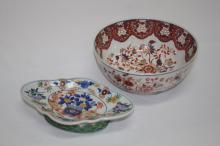 Japanese Deep Fruit Bowl, together with