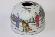 Chinese Pottery Brush Washer,