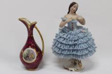 Dresden Porcelain Figure,