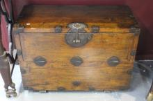 Good Korean Elmwood Cabinet,