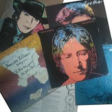 Andy Warhol (1928 - 1987): 6  Record Covers