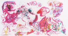 Pierre Alechinsky Belgian (b. 1927): Untitled