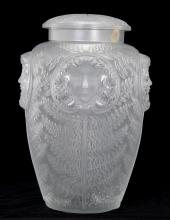 LALIQUE MOLDED GLASS