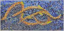 ERIKA GIOVANNA KLIEN  (Borgo Tyrol 1900-1957 New-York) « Mosaique », 1923