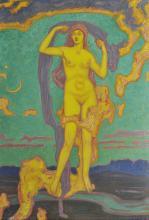 MAX WISLICENUS (1861-1957) Eos, Dieu du Vent