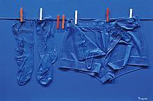 PIERRE RINAUDO (1930-2005) « Corde à linge »