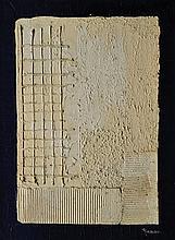 PIERRE RINAUDO (1930-2005) « Plissé blanc »