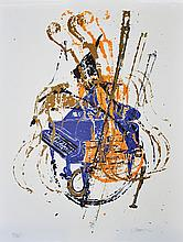 ARMAN (1928-2005) « Piano à queue et Violons »