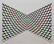 GUY POUPPEZ DE KETTENIS (1915-2013) Composition optique