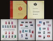 PRINCIPAUTE DE MONACO Les timbres-poste 1924-1970