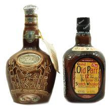 LOT DE 2 BOUTEILLES DE WHISKY Whisky