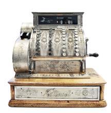 CAISSE ENREGISTREUSE  « CASH REGISTER NATIONAL » vers 1910