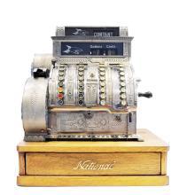 CAISSE ENREGISTREUSE  « CASH REGISTER NATIONAL » vers 1900