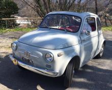 Fiat 500 N 1957  Rare 1ere année de production  Toit « transformabile »  Matching numbers