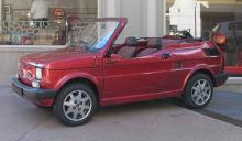 FIAT 126 CABRIOLET  Chassis : ZFA126A0003127104  Rare version cabriolet d'origine  Matching numbers / matching colors