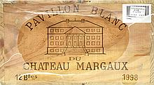 PAVILLON BLANC DE CHÂTEAU MARGAUX 1998 Bordeaux - Margaux - Second vin du Château Margaux
