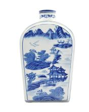 GRAND VASE BOUTEILLE, Chine 1900