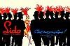 RENE GRUAU (Rimini 1909-2004 Rome)   « Lido, c'est magnifique »  Très grande affiche lithographique originale couleur d'Epoque, vers 1955 et ayant servi de projet de paravent.  Imprimerie Cinemato.  Dimensions : 225 x 320 cm