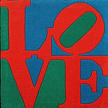 ROBERT INDIANA (1928) « Classic Love »