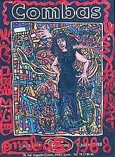 ROBERT COMBAS (1957) Exposition Lyon 1988