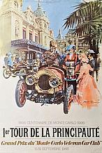 MICHAEL TURNER (1934) 1er Tour de la Principauté