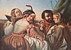 FRANCOIS JOSEPH NAVEZ (1787-1869), Entourage Scène musicale en Italie, 1853, Francois-Joseph Navez, €11,000