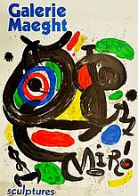 JOAN MIRO (1893-1983) Galerie Maeght, sculptures