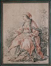JEAN BAPTISTE LEPRINCE (1734-1781), Attribué à