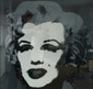 ANDY WARHOL (1928-1987) Marylin, 1970, Variation on black