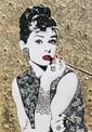 DANIEL DONDE (Italie 1950) Audrey Hepburn