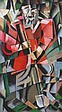 IVAN VASILIEVITCH KLIOUNE (1873-1943) « Le Moujik » ca. 1913
