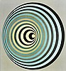 VICTOR VASARELY (1906-1997) Composition spirale