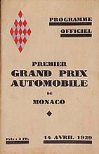 PREMIER GRAND PRIX AUTOMOBILE DE MONACO, 1929