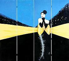 RENE GRUAU (1909-2004) Vogue, Paris