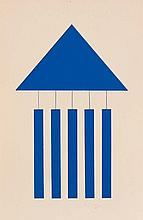 ALBERT CHUBAC (1925-2008) Triangle et bandes
