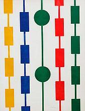 ALBERT CHUBAC (1925-2008) Composition géométrique