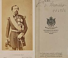 PIERRE L. PIERSON (1822-1913) Le Prince Charles III de Monaco, vers 1870