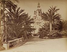 JEAN GILETTA (1856-1933) « Le Casino entre les palmiers » ca.1880