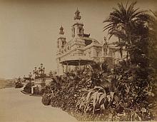 JEAN GILETTA (1856-1933) « Le Casino et les jardins » ca.1880