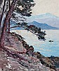 JOSEPH MEISSONIER (1864-1943) Baie de Menton depuis Cap Martin