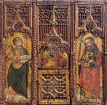 IMPORTANT RETABLE VENITIEN DU 15ème siècle