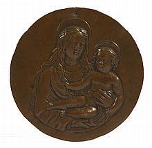 MEDAILLON, ENTOURAGE DE DOMENICO ROSELLI (c. 1439-1498)