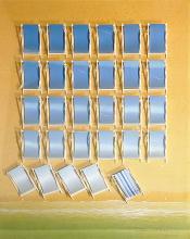 CHRISTIAN DURY (1955) « Les Chaises Bleues »